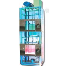 Elevador de dumbwaiter para o serviço usando