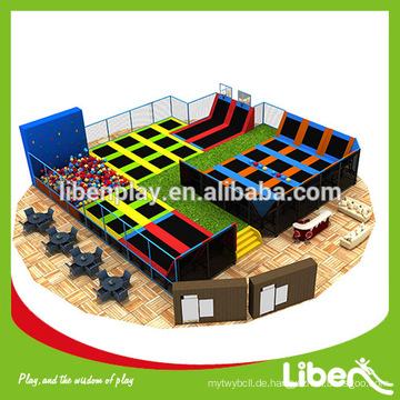 Liben Trampolin Park - Design, Herstellung, Feld assembly.top Qualität, Top Service.NO FRANCHISE CHARGE AT ALL, Trampolin Arena