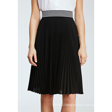 Hot Sale Special Design Pleated Chiffon MIDI Women Skirt