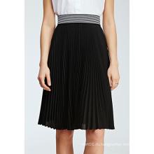 Горячая продажа Специальный дизайн Плиссированные шифон юбка женщин MIDI