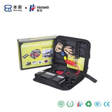 14000mAh Car Jump Starter with 4 LED Light, Metal Shell