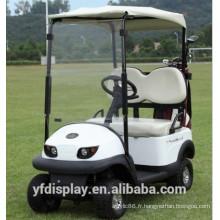 Pare-brise populaire de voiture de golf acrylique de qualité supérieure