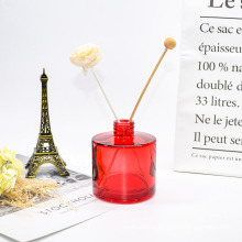 Custom Luxury Design 100ml Color Plating Empty Reed Glass Diffuser Perfume Bottle