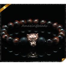 Neue Artikel Großhandel Red Tiger Auge Perlen Natur Stein Armband (CB0118)