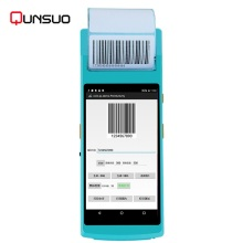 Handheld Android Wifi NFC reader PDA Barcode Scanner