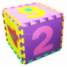 EVA-Material-Matte der Kinder 10 PCS EVA-Matte mit Zahl (10219940)