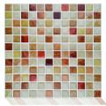 Peel mosaic tiles 3d self adhesive wall stickers