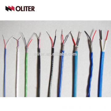 Câble de compensation de blindage fil de thermocouple de type k