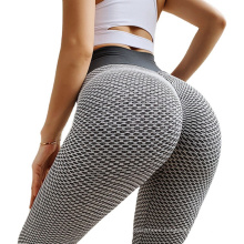 Wholesale High quality fashion plus size yoga leggings Fitness high waist Breathable workout tiktok legging
