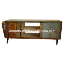 Art Deco Color Wood Tv cabinet