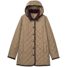 Abrigo acolchado para mujer con relleno de invierno cálido