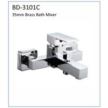 Robinet de baignoire carré Bd3101c en laiton à levier unique 35mm