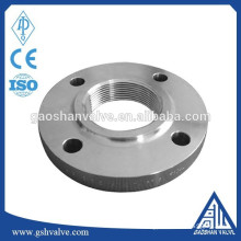 high performance stainless steel femal threaded flange