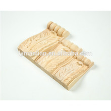custom wood carving Scrolled Acanthus Leaf Small Corbel