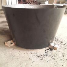 Les réducteurs concentriques de soudures de plaque d'acier de grand diamètre