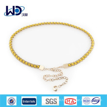 2015 Fashion accessories ladies metal chain belts