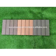 deck de azulejos wpc com tecnologia moderna na linha de produção mais avançada.