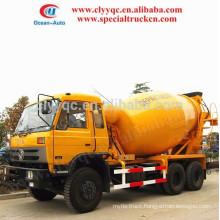 CHEAPER! DongFeng 6x4 mini mixer truck, capcity 6 CBM concrete mixer truck with sale