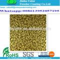 Pulverização electrostática tinta veia ouro em pó