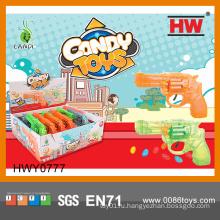 Забавные пластиковые мягкие игрушки Candy Guns (12pcs / Display box)