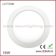Luz de techo suspendida redonda de 18W LED (LC7725M)