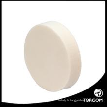 choux de poudre en gros / pot de houppette de poudre, mélange de houppette éponge cosmétique