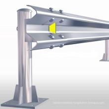 Hot dipped galvanized finish Highway Guardrail Metallic Highway Guardrail