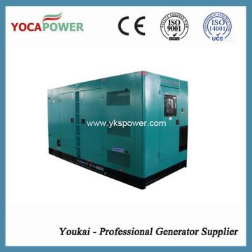 Тихий генератор 280 кВт / 350 кВА Cummins 4-тактный двигатель