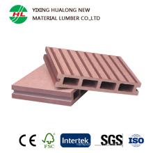 Suelo compuesto de plástico de madera al aire libre del mejor precio