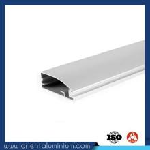 Perfil de alumínio largo barato para a tira conduzida