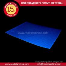 Glassbeads glowing guidepost reflective sheeting