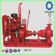 Fabrikprodukt IS Dieselgetriebene Zentrifugalfeuerpumpe