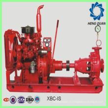 Заводская продукция: дизельный двигатель с центробежным пожарным насосом