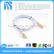 HDMI GOLD CABLE V 1.4a 1080p 3D 4K2K PARA SKY LG SAMSUNG