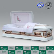 LUXES American Best Selling cercueils métalliques à vendre