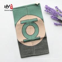 funda de caja de lino titular de tejido de cocina