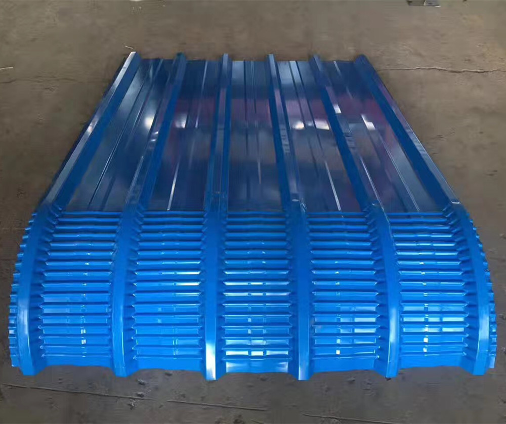 Crimp Roof Sheet Roll Forming Machine