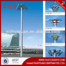 Auto-angehobene Typen Stahl hohe Mast Beleuchtung Pole