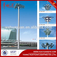 best-selling high illumination mast pole for road/street and square