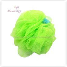 Esponja de malha de esponja de banho Esfera de esponja de banho