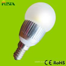 Alta calidad buen precio brillante E27 3W LED bombilla