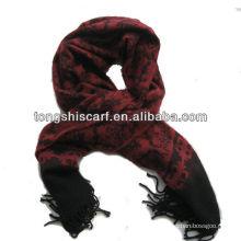 мода японский жаккардовые шаль