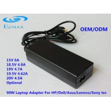 Adaptateur CA YH-8002 90W Adaptateur pour ordinateur portable