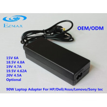 90W Adapter for laptop,laptop power,laptop charger
