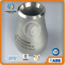 ОЕМ Wp316 конц. Редуктор с asme В16.9 трубы (KT0317)