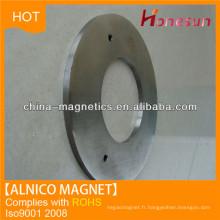 Alibaba Express aluminium Nickel Cobalt (alnico) aimants permanents