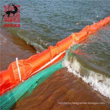 Deers eva floating oil boom silt curtains for sea