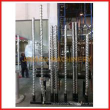 doble husillo cónico y cilindro / doble husillo paralelo y cilindro / simple husillo y cilindro