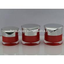 Pot acrylique cosmétique