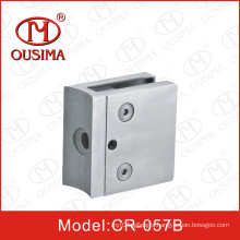 Hot Sale Stainless Steel Square Glass Clamp for Railing